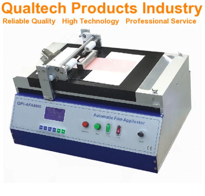 Automatic Vacuum Film Applicator with Heated Vacuum Table
